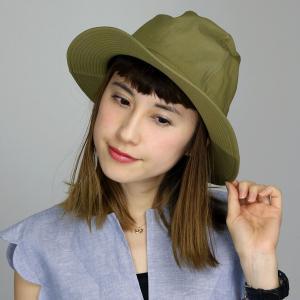 ハット 帽子 メンズ マウンテンハット 春夏 ハット メンズ コットン ブランド ナチュラル 中折れハット racal 日本製 シンプル/ベージュ|elehelm-hatstore
