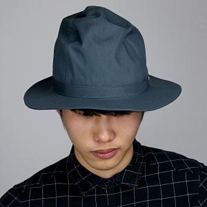 帽子 メンズ コットン ブランド マウンテンハット 春夏 ハット メンズ ナチュラル 中折れハット racal ハット 日本製 シンプル/グレー|elehelm-hatstore