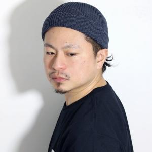 ラカル ロールキャップ 浅め ニット帽 メンズ SK8  日本製 racal ワッチキャップ サマーニット帽 春夏 cap フィッシャーマンキャップ/チャコール|elehelm-hatstore