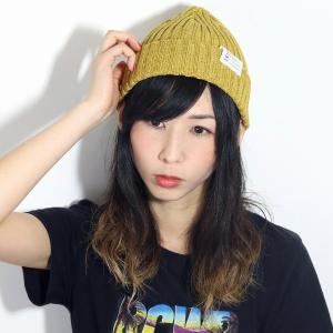日本製 racal cap リブ編み ニット 帽子 ニット帽 メンズ ラカル 定番 春夏 ニットワッチ ベーシック レディース ニットキャップ/マスタード|elehelm-hatstore