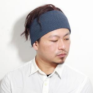 帽子 ニット ポップコーン編み 麻 春夏 大人 ニット素材 ヘアーバンド racal ヘアバンド メンズ 日本製 レディース ニット/チャコール|elehelm-hatstore