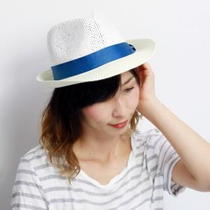中折れハット 編み柄 ストローハット 春夏 カジュアルファッション RUBEN メンズ レディース 帽子 アイボリー|elehelm-hatstore