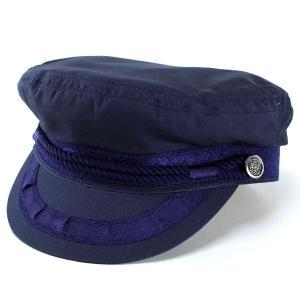 帽子 メンズ レディース 帽子 キャップ マリンキャップ ヨット コットン 夏 帽子 ネイビー|elehelm-hatstore