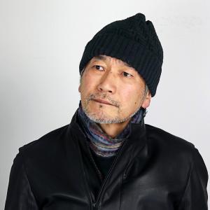 ニット帽 メンズ 秋冬 ニット帽 レディース 帽子 メンズ シンプルライフ ニットワッチ 普段使い 日本製 プレゼント SIMPLE LIFE/黒 ブラック|elehelm-hatstore