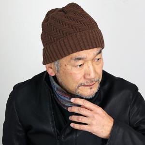 普段使い 日本製 プレゼント SIMPLE LIFE ニット帽 秋冬 ニット帽 レディース 帽子 メンズ ニットワッチ メンズ シンプルライフ/茶 ブラウン|elehelm-hatstore