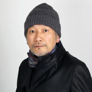 秋冬 ニット帽 レディース 帽子 メンズ ニットワッチ 普段使い 日本製 プレゼント SIMPLE LIFE ニット帽 メンズ シンプルライフ/チャコール|elehelm-hatstore