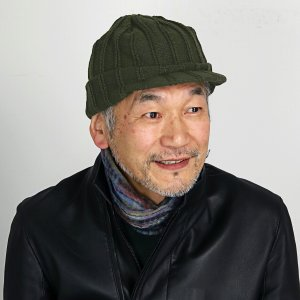 ニットキャスケット 帽子 レディース 冬 日本製 プレゼント SIMPLE LIFE ニットキャップ つば付き シンプルライフ オスロ ニット帽 メンズ/カーキ|elehelm-hatstore
