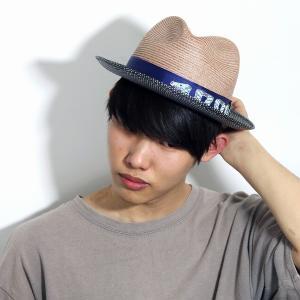 春 夏 帽子 メンズ 中折れ帽 涼しい 2トーン 麻 インポート ヘンプブレード CARLOS SANTANA カルロス サンタナ ベージュ タン|elehelm-hatstore