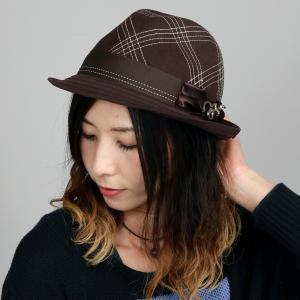 CARLOS SANTANA 中折れハット 秋冬 メンズ ウールハット カルロス サンタナ 帽子 レディース ハット チョコレート ブラウン|elehelm-hatstore