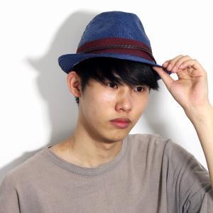 CARLOS SANTANA 春 夏 帽子 メンズ 涼しい カジュアル ペーパー素材 レディース 中折れ帽 カルロス サンタナ 紺 ネイビー|elehelm-hatstore