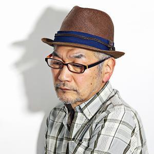 カルロス サンタナ 春 夏 帽子 メンズ 涼しい カジュアル ペーパー素材 CARLOS SANTANA レディース 中折れ帽 茶 ブラウン|elehelm-hatstore