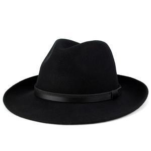 中折れ帽子 ソフトハット フェルト イタリア製 帽子 Di CHIARA ROSA ディ・キアラ・ロ...