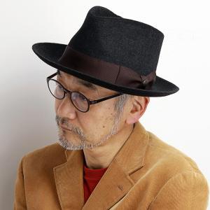 STETSON 帽子 ハット 秋冬 アンゴラ ウール メンズ ステットソン 茶 ブラウン|elehelm-hatstore