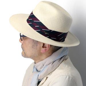 ステットソン 本パナマ 中折れ帽 ROYAL STETSON エクアドル製 サイズ調整機能付き パナマハット 中折れハット 春夏 帽子 メンズ ナチュラル|elehelm-hatstore