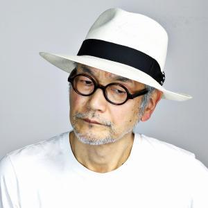 パナマ ステットソン 春夏 中折れ メンズ パナマハット ワイドブリム STETSON ビジネス 中折れ帽 紳士 帽子/白 ホワイト|elehelm-hatstore