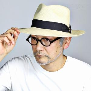 ワイドブリム STETSON ビジネス パナマ ステットソン 春夏 中折れ メンズ パナマハット 中折れ帽 紳士 帽子/ナチュラル|elehelm-hatstore