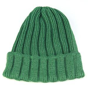 ニット帽 ワッチ ピマコットン サマーニット シンプルデザイン 春夏 メンズ レディース ストリート ニットキャップ グリーン