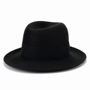 オープンクラウン ボーラー 秋冬 中折れハット メンズ ステットソン STETSON ファーフェルト ハット 帽子 高級 マウンテンハット 日本製/スミクロ|elehelm-hatstore