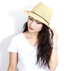 麦わら帽子 ハット メンズ ハット レディース ストローハット レディス 中折れハット ラフィア 大きい 大きいサイズあり ベージュ|elehelm-hatstore|14
