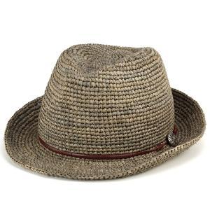 ストローハット 帽子 ハット メンズ レディース 麦わら帽子...