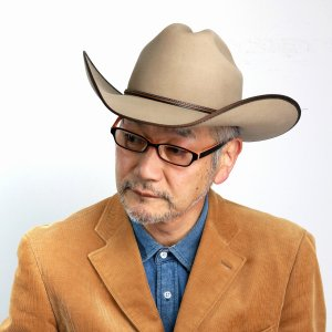 帽子 キャトルマンハット ステットソン 中折れ STETSON ウエスタンハット アメリカ ブランド 紳士 テンガロン ハット メンズ  高級 フェルトハット/サンド|elehelm-hatstore
