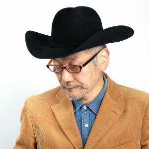 秋冬 帽子 メンズ STETSON 高級 フェルト ウエスタンハット ステットソン 中折れ テンガロン ハット メンズ  アメリカ ブランド 紳士 黒 ブラック|elehelm-hatstore