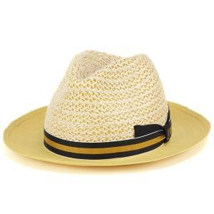 春夏 tesi ファッション 帽子 イタリア ペーパーハット メンズ テシ 帽子 ブランド ストローハット ベージュ|elehelm-hatstore
