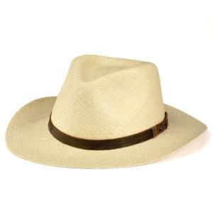 帽子 メンズ ハット トミーバハマ カウボーイ ワイドブリム パナマハット インディージョーンズ フェドラ 夏の帽子 高級 ナチュラルカラー|elehelm-hatstore