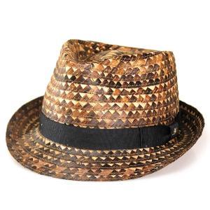 ハット 帽子 中折れ バナナ ブレード エスニック トミーバハマ 夏の帽子 サーフ ストロー ブラウン|elehelm-hatstore