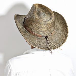 ... HAT CO ステットソン MONTERREY BAY 染め パームブレード カウボーイ ハット STETSON 中折れ帽 メンズ 中 ... 70c94974dd3