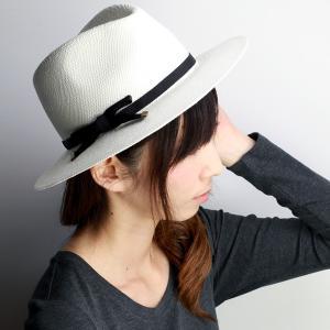 パナマハット HATS & DREAMS ハット&ドリームズ 春夏 パナマ 中折れハット 大人 帽子 ストローハット ブラックリボン|elehelm-hatstore