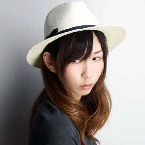 パナマハット HATS & DREAMS ハット&ドリームズ 春夏 ストローハット パナマ 中折れハット 大人 帽子 ネイビーリボン|elehelm-hatstore
