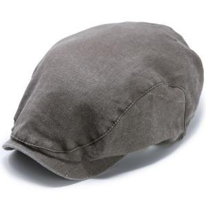 ヴィゲン インポート ハンチング  WIGENS ハンチングキャップ メンズ 大きいサイズ ウォッシュドリネン ハンチング帽 Ivy contemporary cap 春夏 帽子 トープ elehelm-hatstore