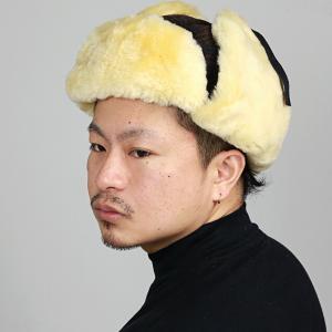 飛行帽 メンズ Woolrich フライトキャップ レディース 防寒 チェック柄 シープファー ファー帽子 ウールリッチ 帽子 トラッパー ブラウン|elehelm-hatstore