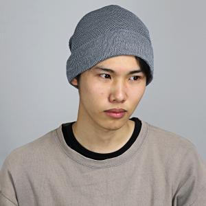 ニット帽 春夏 サマーニット 帽子 レディース サマーニット帽 涼しい帽子 ワッチ ニットワッチ Munsingwear マンシングウエア/グレー|elehelm-hatstore