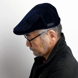 mila schon 帽子 ハンチング メンズ 別珍 ブランド 紳士 ギフト ミラ・ショーン 秋冬 レディース ベロア 紺 ネイビー|elehelm-hatstore
