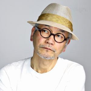 ミラショーン 中折れ ハット シナマイ 中折れハット メンズ サイズ調整可 日本製 mila schon 春夏 帽子 マニラ麻 中折れ帽 ベージュ|elehelm-hatstore