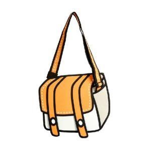 新品 送料無料●2次元 2D イラスト ショルダーバッグ●マンガ イラストバッグ|elelerueru
