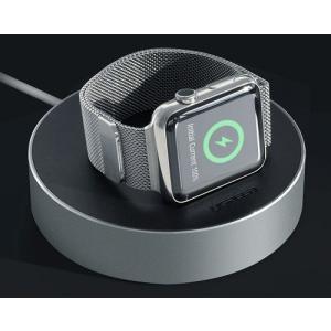 送料無料 新品●Apple watch アップルウォッチ   充電用スタンド ケーブル収納ホルダー 時計ブラケット●Apple watch用 iWatch用 充電ケーブル用|elelerueru