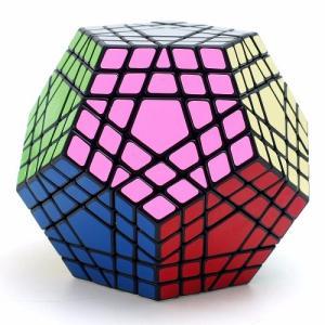 送料無料 新品●大サイズ 5×5×5 5角形 12面体ルービックキューブ  ペンタゴン  IQ ルービックキューブ●おもちゃ 知育玩具 頭の運動 約10-11cm|elelerueru
