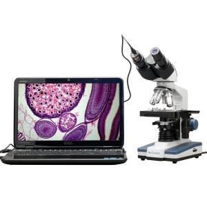 予約【約2週間待ち】 送料無料 新品●デジタル 双眼 複合顕微鏡 40X-2500X 最小40倍 最大2500倍●USBカメラ付き 顕微鏡 3Dステージ 2Dステージ|elelerueru
