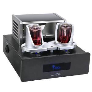 送料無料 新品●YAQIN社 バッファーアンプ音質改善機 SD-CD3 6N8P プロセッサー●|elelerueru