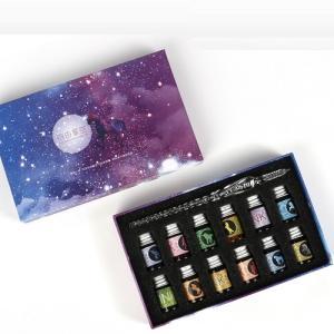 クリスタルガラスペン インク12色付き 自由星空 ユニコーン ライティング ペンのお色11種からご選...