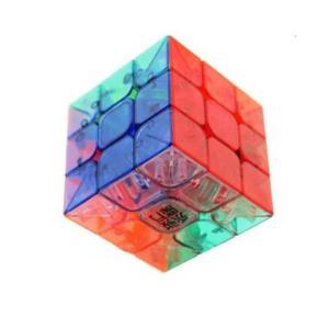 送料無料 新品●YJ YuLong ルービックキューブ スケルトン●世界基準配色 Rubik's Cube T|elelerueru
