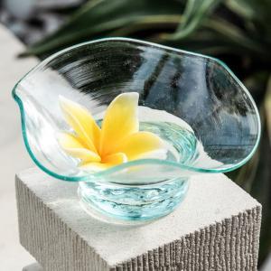 トレイ デコレーショントレイ ガラス 雑貨 アジアン 収納 小物入れ アクセサリートレイ おしゃれ インテリア 13100|ELEMENTS
