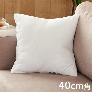 ヌードクッション 中身 洗える 40×40cm 角型 四角形 クッションカバー用 肉厚 高品質 中綿 中材 クッション中身 ふかふか 洗濯 手洗い ポリエステル|elements