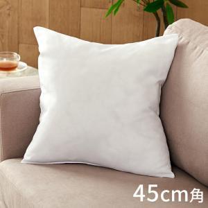 ヌードクッション 中身 洗える 45×45cm 角型 四角形 クッションカバー用 肉厚 高品質 中綿 中材 クッション中身 ふかふか 洗濯 手洗い ポリエステル|elements