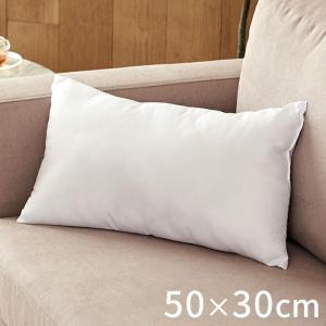 ヌードクッション 中身 洗える 50×30cm 角型 長方形 クッションカバー用 肉厚 高品質 中綿 中材 クッション中身 ふかふか 洗濯 可 ポリエステル|elements