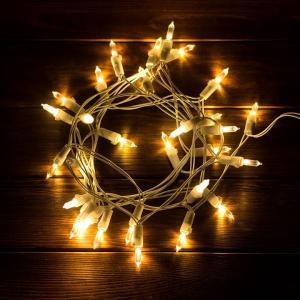 イルミネーション 電池式 LED ストリングライト 3m 30球 ライト 電飾 室内 間接照明 ディスプレイ インテリア 壁 オーナメント クリスマス 誕生日 照明器具 elements