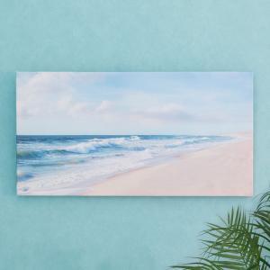 アートパネル 海 キャンパス アートフレーム 額 アートポスター 約60cm×30cm 西海岸 ハワイ グアム バリ セブ 壁掛け インテリア おしゃれ|elements